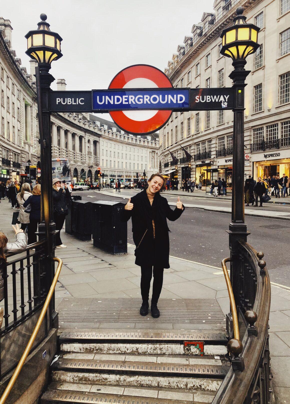 Triin Kullisoni kogemuslugu dentsu Londoni esinduses töötamisest